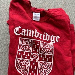 cambridge university tshirt